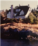 Barrick house from water 1970s