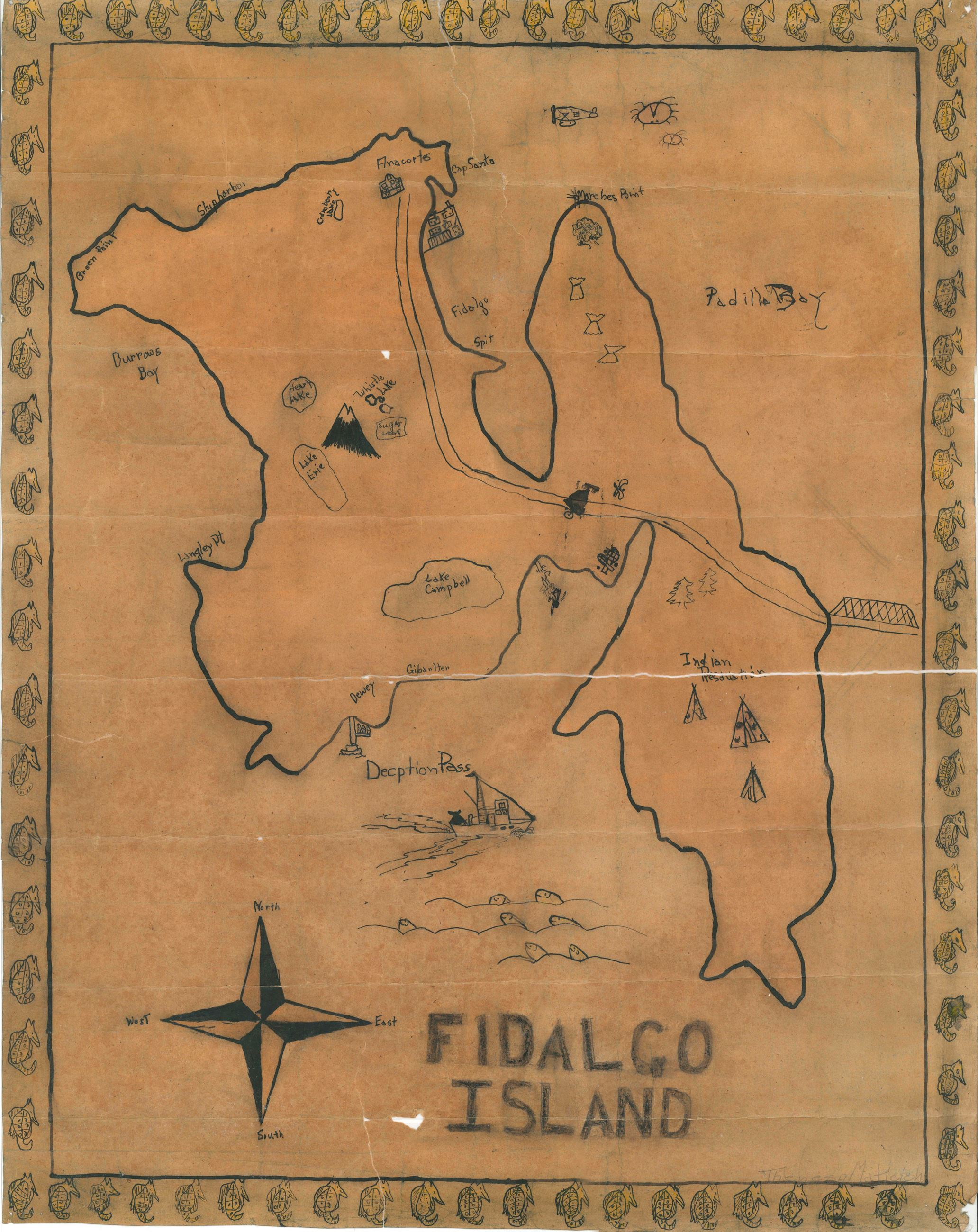 Fidalgo Map