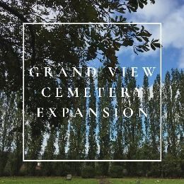 grand view cemetery expansion