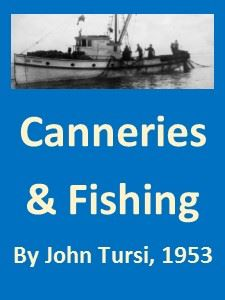 Canneries and Fishing by John Tursi 1953