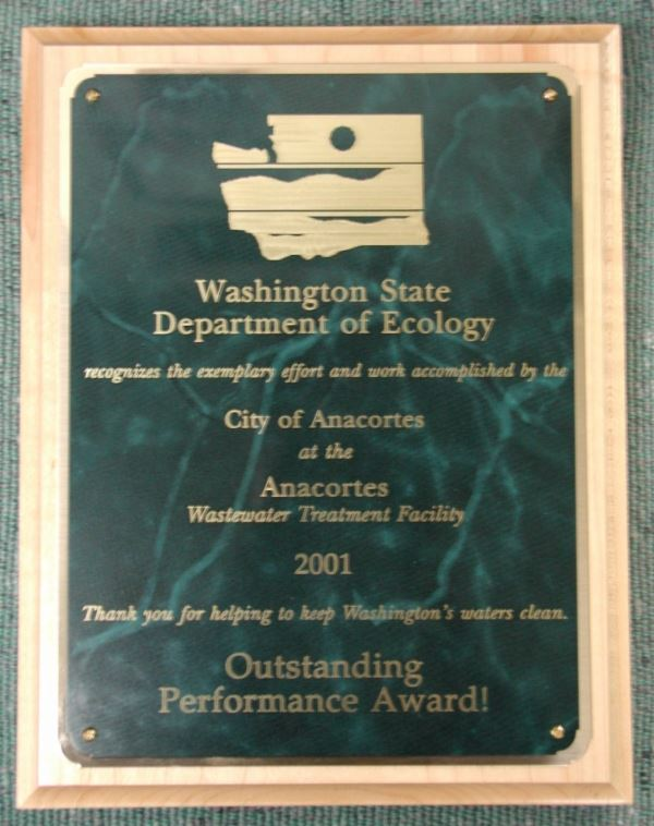 DOE Outstanding Performance Award