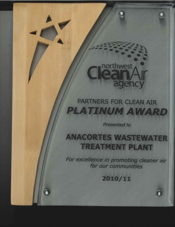 NW Clean Air Agency Platinum Award