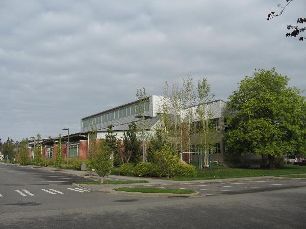 Exterior photo of library